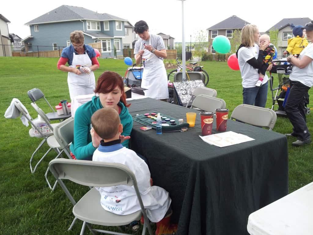 Balloon Twisting At Make A Wish Foundation Celebration
