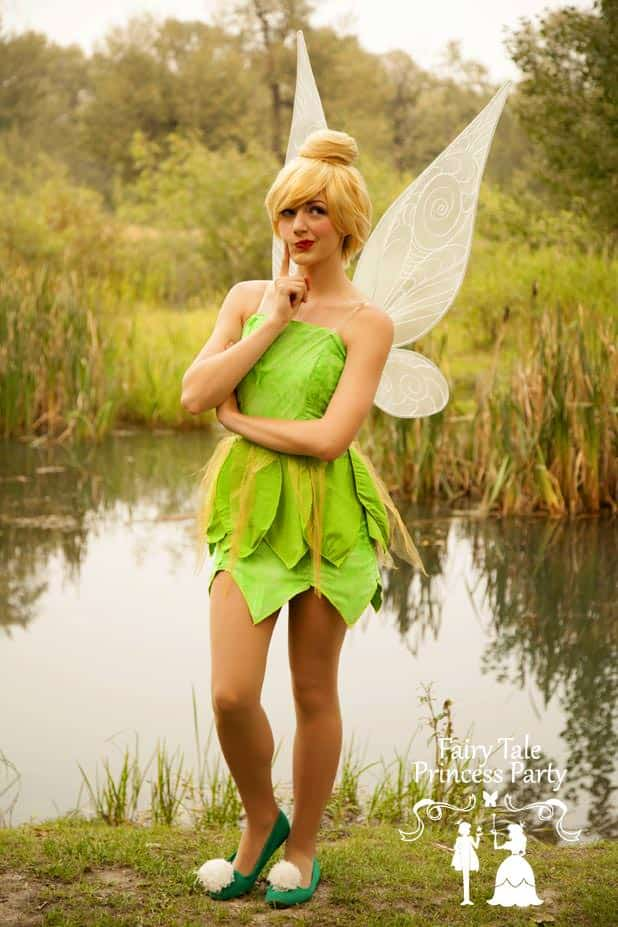 Fluttering from the land of the fairies, the Forest Fairy uses her pixie dust to head to Calgary birthday parties