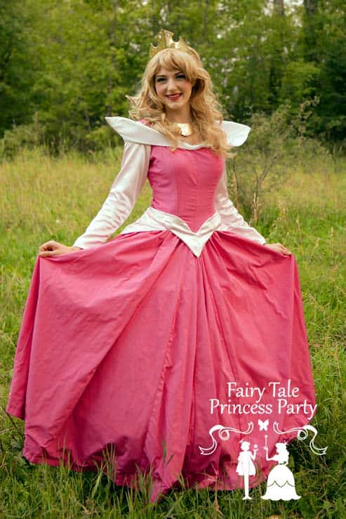 The Sleeping Princess is a kind hearted Calgary princess who loves to have tea parties at birthdays
