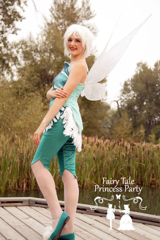 Calgary's Frost Fairy loves to attend fairy parties and show off her frozen skills