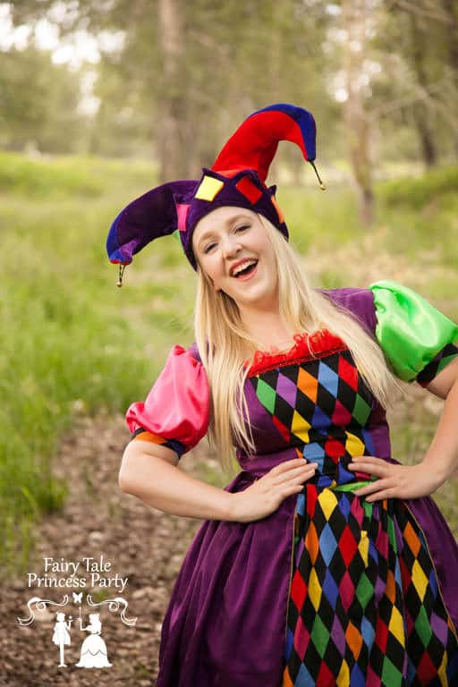 Calgary Jester performer for birthday parties for boys and girls