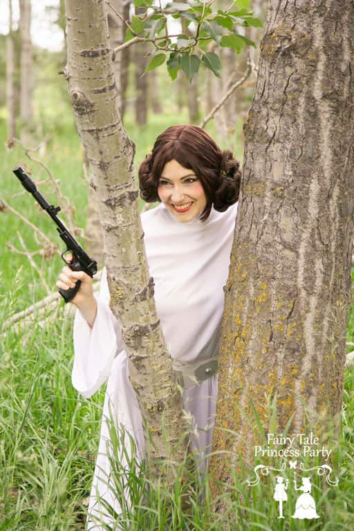 Calgary has its own Galactic Princess Impersonator for children's parties